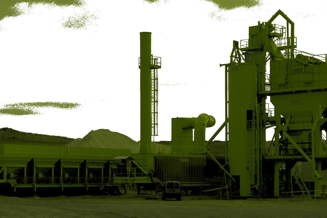 THE UNIVERSE OF ASPHALT PLANTS AT A GLANCE